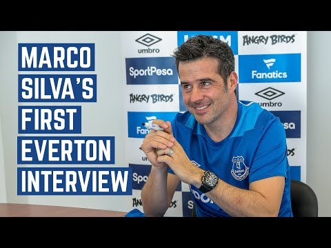 MARCO SILVA: FIRST EVERTON INTERVIEW