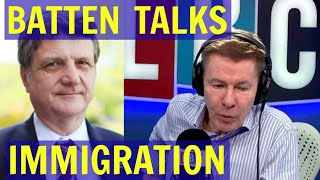 Gerard Batten Discusses MASS IMMIGRATION With Andrew Pierce - LBC