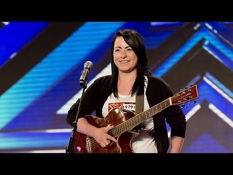 Lucy Spraggan's audition  Last Night  The X Factor UK 2012