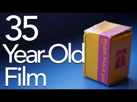 Shooting 35-Year-Old Photo Film