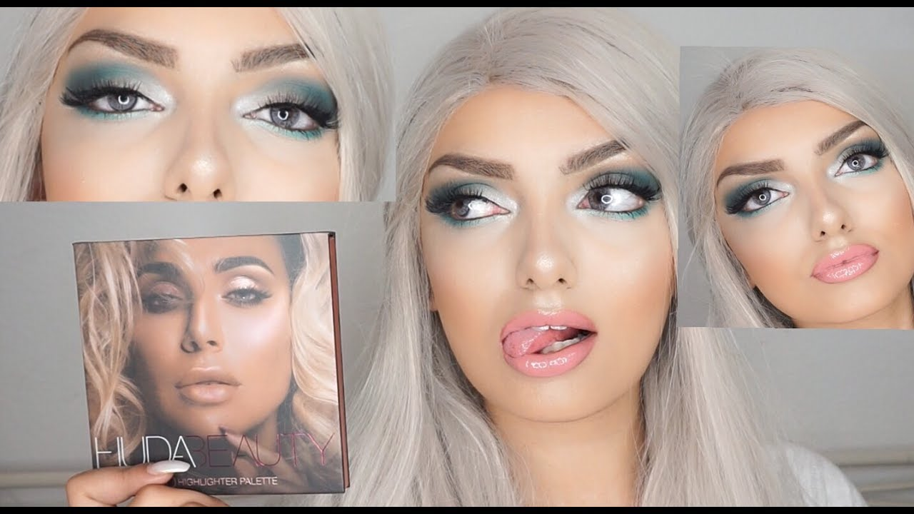 make up tutorial mit der huda beauty 3d highlighter palette gewinnspiel youtube. Black Bedroom Furniture Sets. Home Design Ideas
