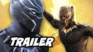 Black Panther Official Trailer and New Infinity War Suit Breakdown