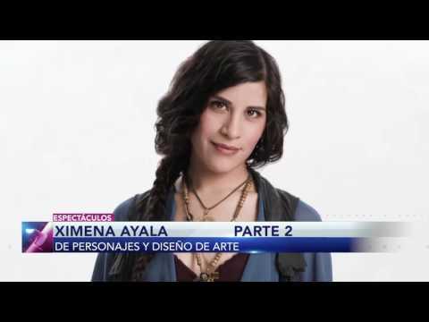 ¡Ximena Ayala habla de sus personajes y estudios en diseño de arte!