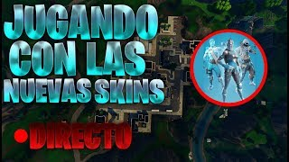 FORTNITE ? PLAYING WITH THE NEW SKINS OF ACED Laws ? PLAYING WITH SUBS TO THE CREATIVE MODE
