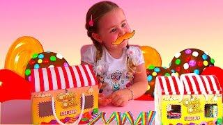 Candy Crush в реальной жизни Сладости из игры Желейные усы и длинная кислая конфета