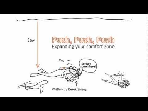 Push, Push, Push. Expanding Your Comfort Zone.