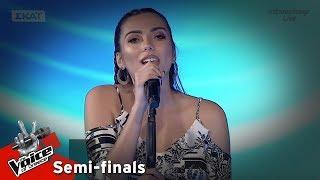 Δέσποινα Λεμονίτση - Μαμά γερνάω | 2ος ημιτελικός | The Voice of Greece