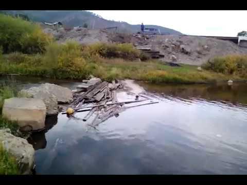 Петровск Забайкальский,ул Луговая и мост