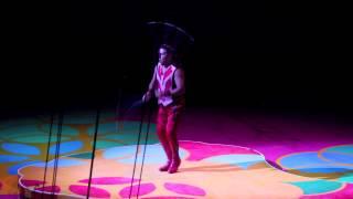 Cirque du Soleil - Saltimbanco - Despedida. Ultimo show de Luis López.