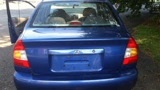 2001 Blue Hyundai Accent Used Cars Brewster