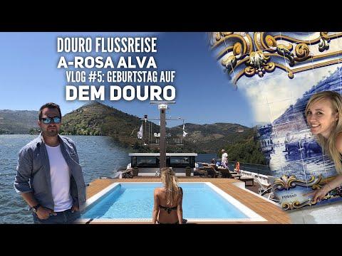 Douro Kreuzfahrt mit A-Rosa - Vlog #5: Geburtstag auf dem Douro
