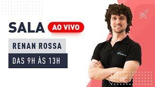 SALA AO VIVO - RENAN ROSSA no modalmais 25.06.2019