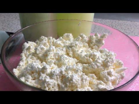 Как в мультиварке сделать творог из кислого молока