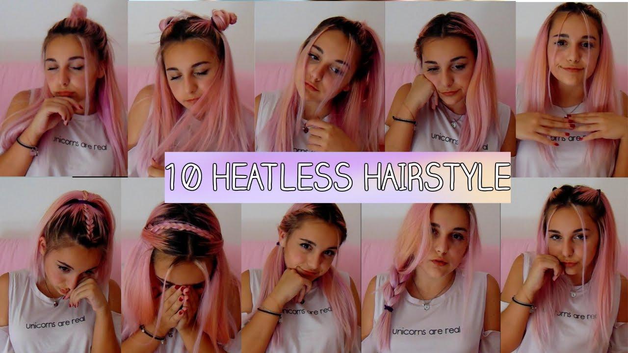 10 heatless hairstyles back to school tumblr inspired | valeria sbamm