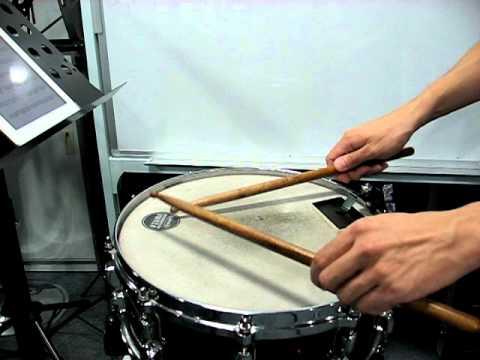 G5 - Snare Drum - Allegro Energico (mm.63-94)