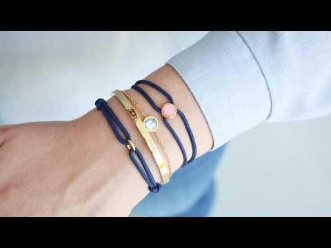 Schmuck machen: Hippe modische Armbänder mit Surfkordel ♡ DIY
