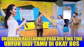 Raffi Ahmad undang Ayu Ting Ting Jadi Tamu di Okay Bos