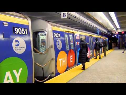 MTA Subways - Rush Hour on the Second Avenue Line