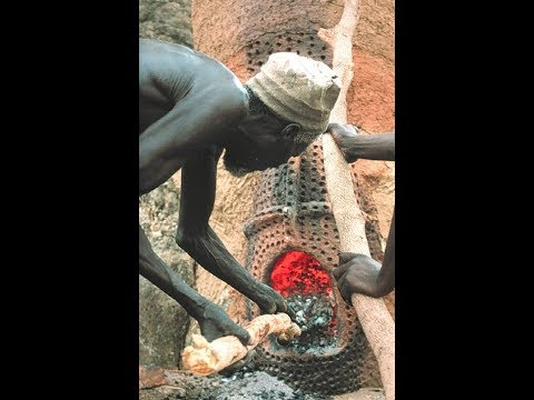 Black Hephaistos: exploring culture and science in African iron working (1995; 48 mins)