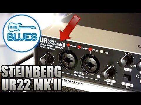 steinberg-ur22-mkii-usb-audio-interface---setup-&-audio-test