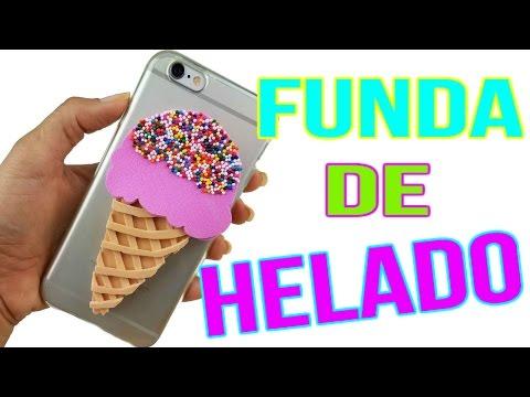 36294e4fa99 DIY Fundas/Cover para Celular de Helado | Manualidades con Foamy by Andy  Hilario