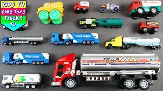 Leran Types Of Tanker Trucks With Street Vehicles For Children