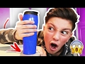THE CUP THAT WILL NEVER SPILL!!! (IMPOSSIBLE CHALLENGE)