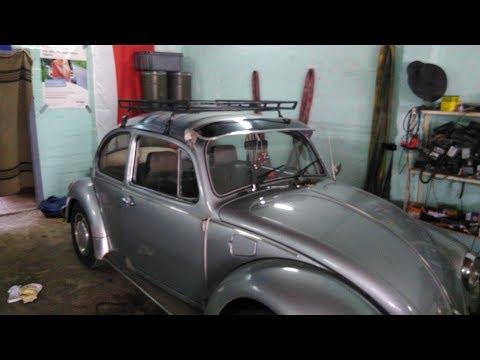 VW Käfer: Dachgepäckträger nach #Gurkenprinzip | Vorbereitung für 1. Mai Hannover