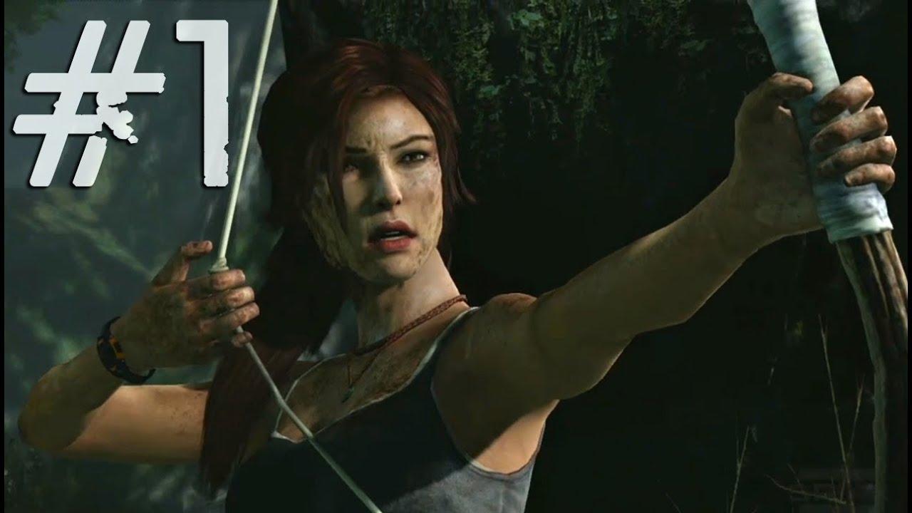 Tomb Raider 2013 Gameplay Walkthrough Part 1 Intro To Lara Croft Pc