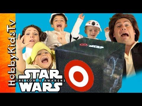 Galaxy's Biggest STAR WARS Episode VII Surprise Box Opeing