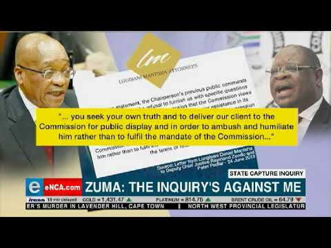 State capture against me: Zuma