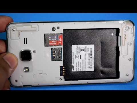 How To Insert Simcard And SD Card In Samsung Galaxy On5 Pro