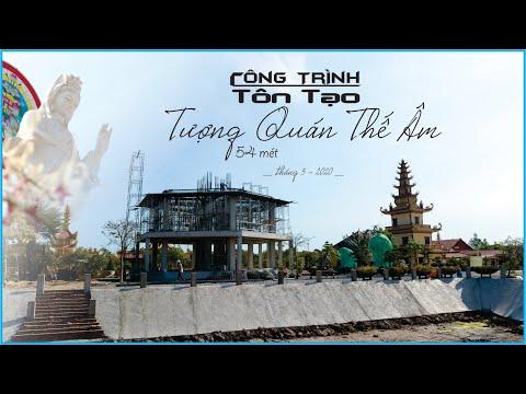 Chùa Vạn Phước - Công Trình Xây Dựng Tượng Quan Âm 54m và Hồ chứa nước ngọt