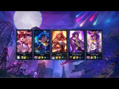 Star Guardian Jinx Gameplay - NEW Invasion Game Mode Onslaught (Victory)
