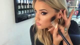 smokey copper eye makeup tutorial