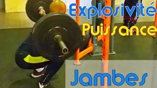 Entrainement Puissance Explosivité Détente Jambes  Power Leg Workout