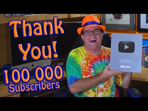 I Got My Silver Creator Award! – 100 000 Subscribers Thank You Special
