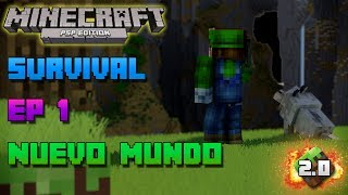 Minecraft PSP | Survival | Episodio 1 | Nuevo Mundo | Loquendo | HD | luigi2498