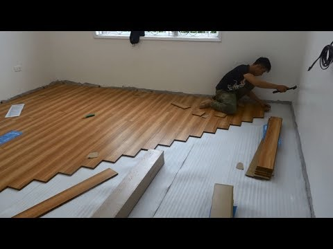 Excellent Building Bedroom Floor With Wood & How To Install Wooden Floors Step By Step