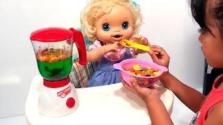 BABYALIVE / Comidinha de Boneca / Food Doll