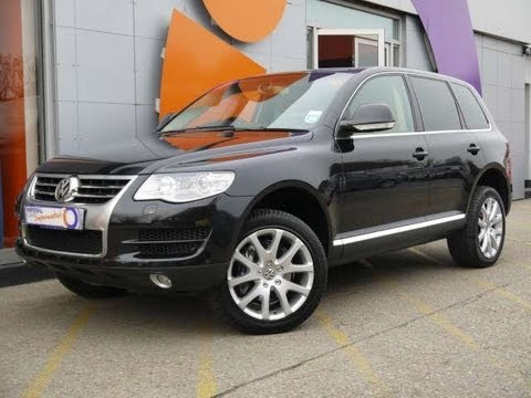 2008 volkswagen touareg se 3 0v6 tdi black for sale in. Black Bedroom Furniture Sets. Home Design Ideas