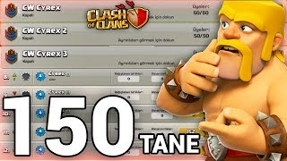 150 TANE HESABI OLAN ÇILGIN ADAM !!! | BİLİNMEYENLER #39 - Clash Of Clans