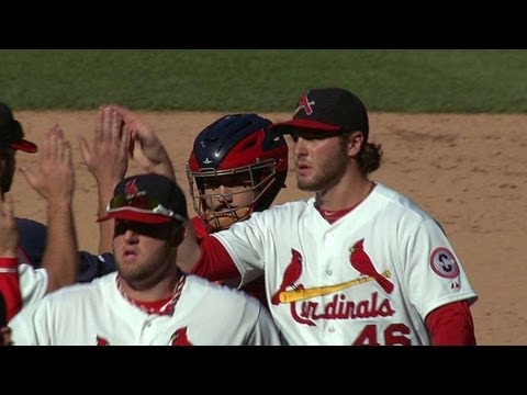 Cards clinch top seed in the National League