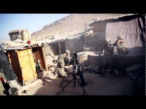 Mortar Fire Mission In Afghanistan