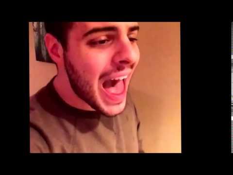 chrish singing neon lights vine