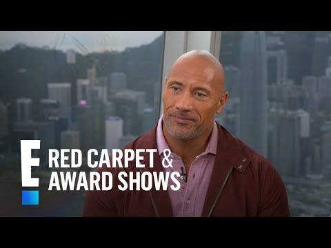 """Dwayne Johnson Talks Family Life and """"Skyscraper""""   E! Live from the Red Carpet"""