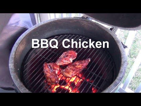 BBQ Chicken On The Big Green Egg