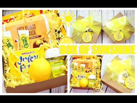 Box of Sunshine | DIY GIFT IDEA