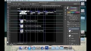 Create A Website Using Photoshop & Dreamweaver - Part 1