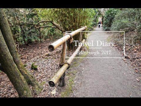 Travel Diary. Edinburgh tour Scotland 2017.